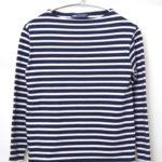OUESSANT ウエッソンボーダー ボートネックバスクシャツ