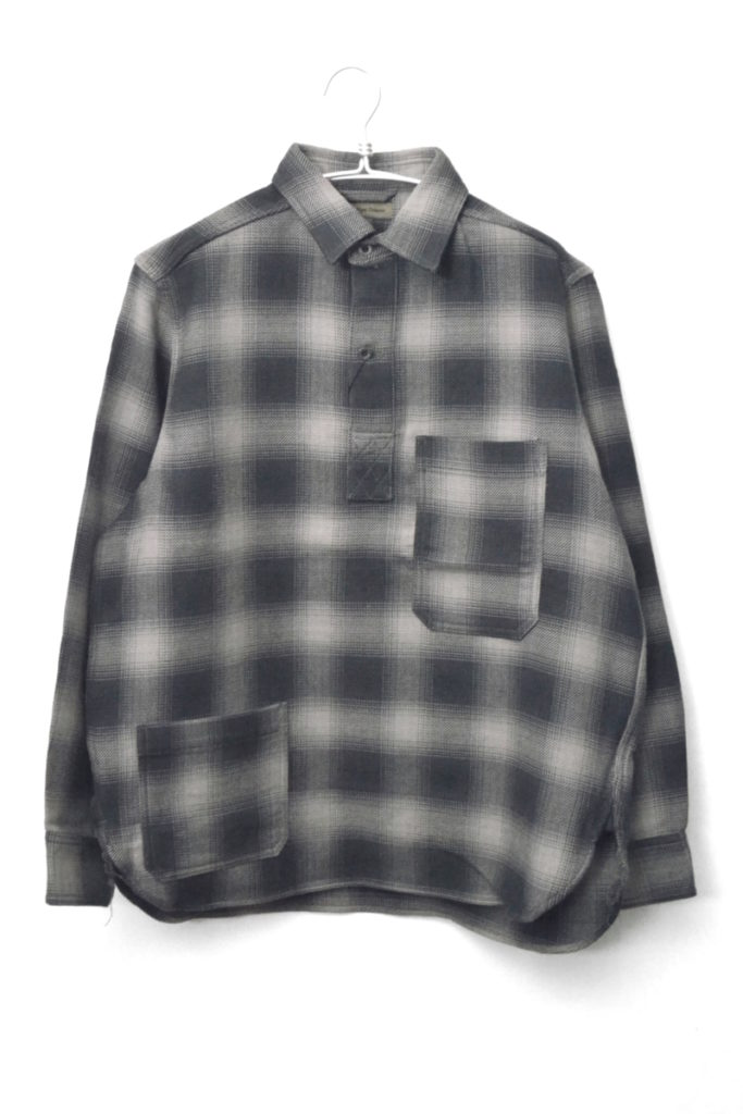 2017AW/ OMBRE CHECK P.O.H. SHIRT オンブレチェック POHシャツ