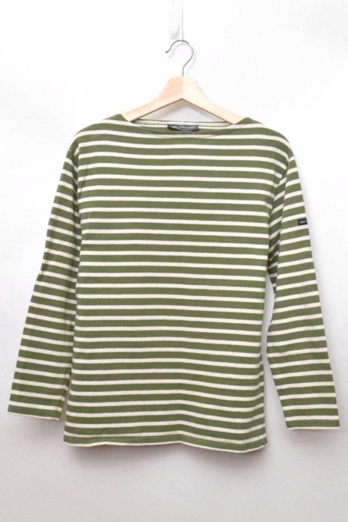 OUESANT ウエッソン ボーダーバスクシャツ