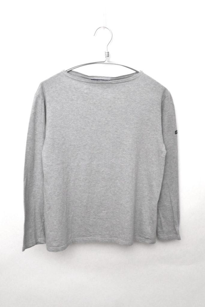MOALAIX SOLID モーレ無地 ボートネックカットソー バスクシャツ