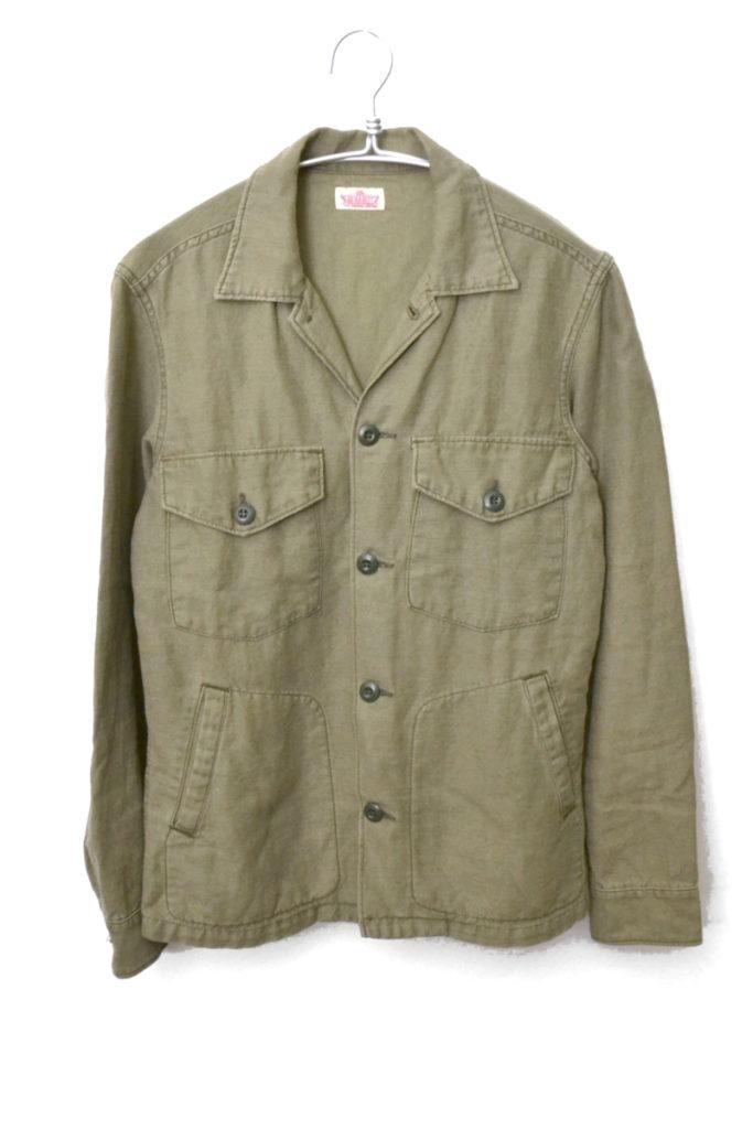 ミリタリーシャツ ジャケット