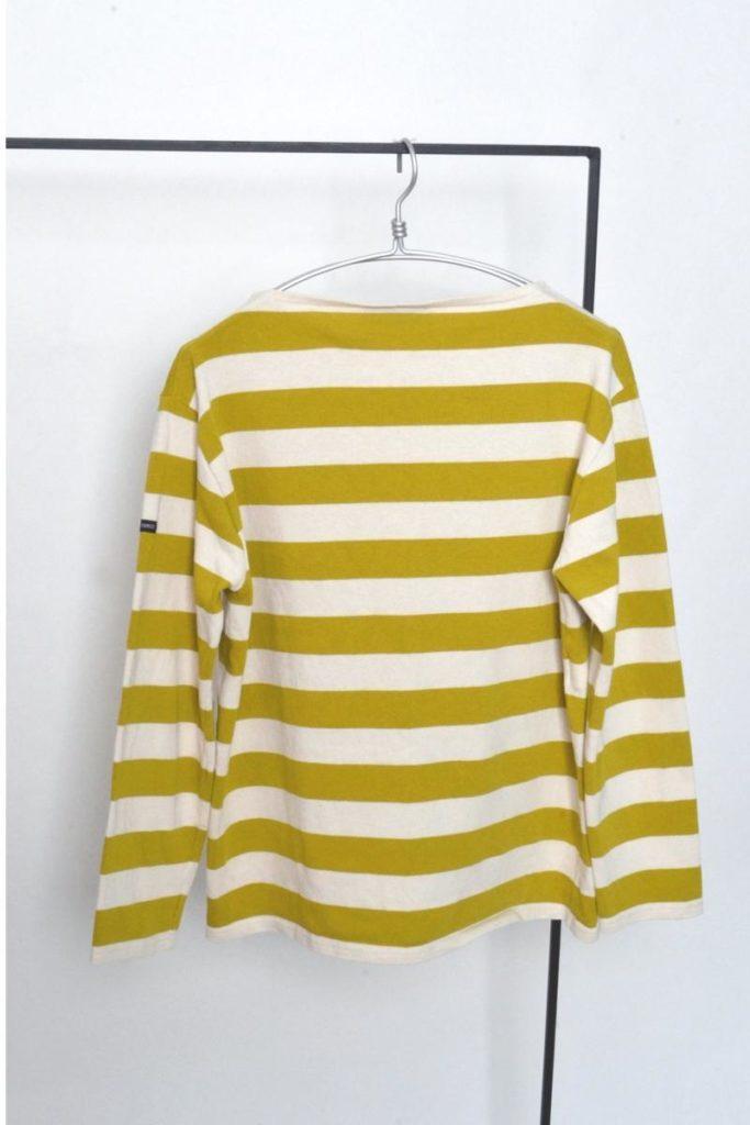OUESSANT ウエッソン ワイドボーダーバスクシャツの買取実績画像
