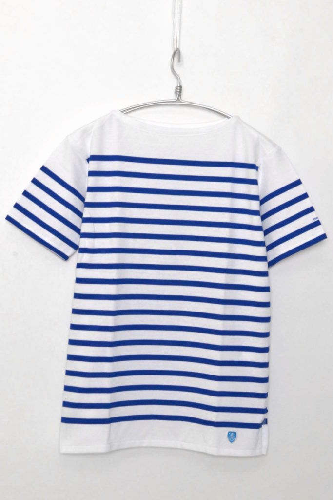 French Sailor S/S T-Shirt ラッセル フレンチセーラー半袖Tシャツ パネルボーダ
