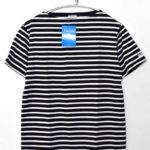 Boatneck T-Shirts ボーダーボートネックTシャツ