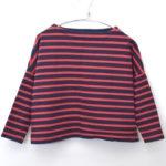 BIG MARINE BOATNECK SHIRT ボーダーバスクシャツ