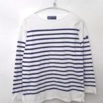 NAVAL ナバル パネルボーダーバスクシャツ