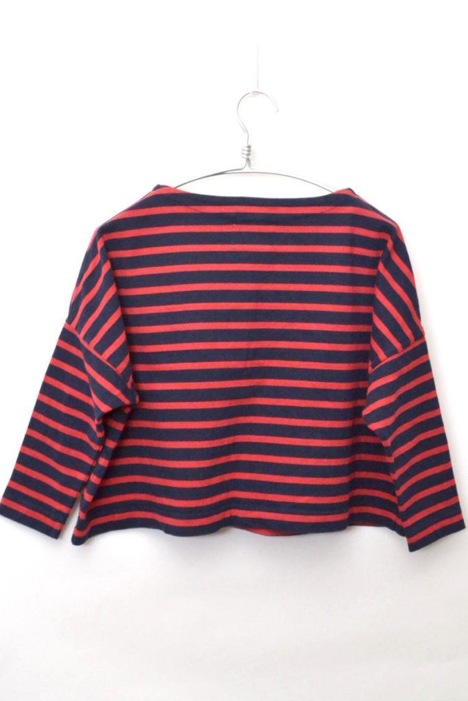BIG MARINE BOATNECK SHIRT ボーダーバスクシャツの買取実績画像