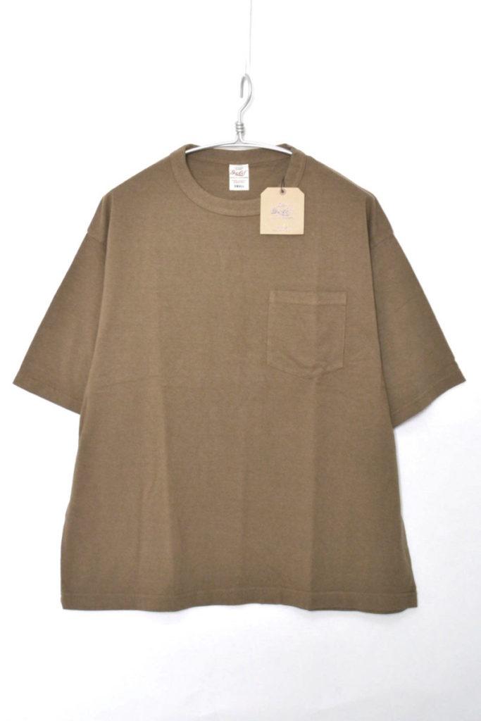 WIDE T-SHIRT ワイド ポケットTシャツ