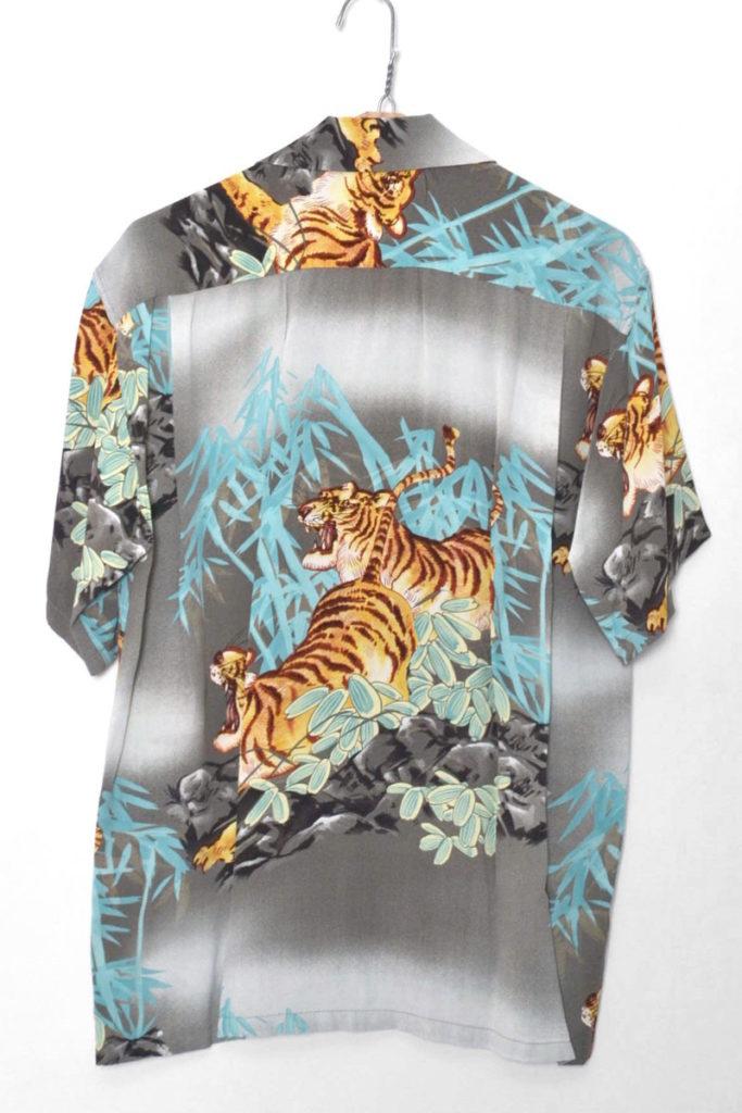 2017/ S/S RAYON ALOHA SHIRT PROWLING TIGER レーヨンアロハシャツの買取実績画像