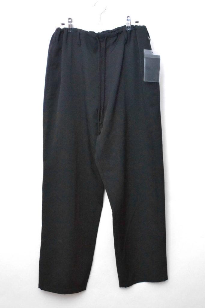 2018SS/ Gabardine Classic Draw String Pants ウールギャバ ヒモパンツ