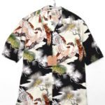 COTTON HAWAIIAN OPEN SHIRT KING OF THE SKY コットン アロハシャツ