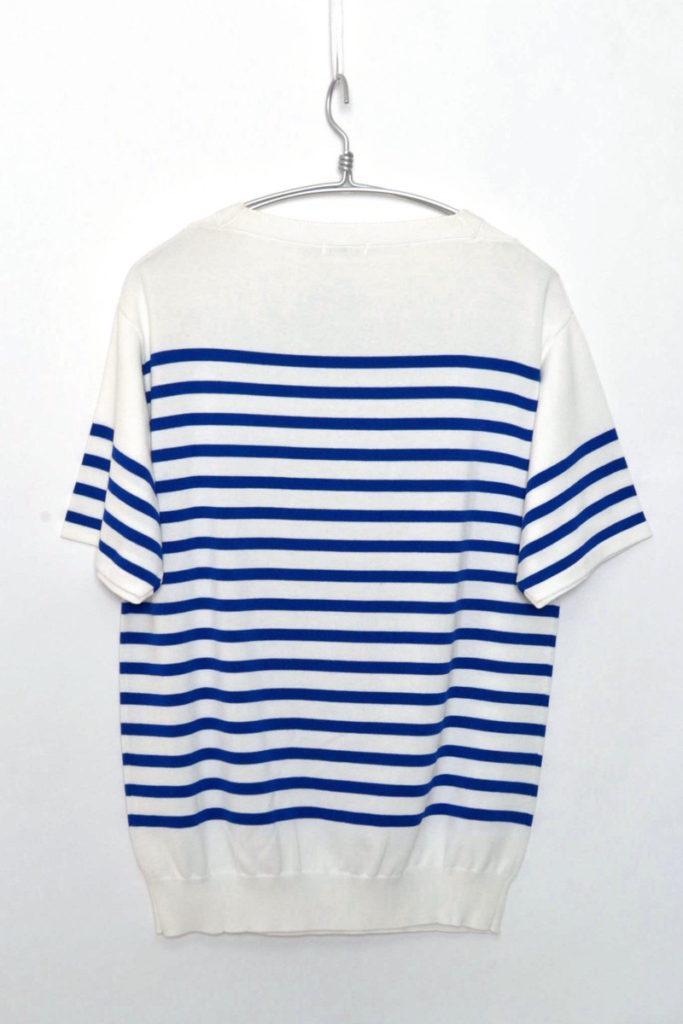 COTTON KNIT STRIPE ボーダー コットンニットTシャツの買取実績画像