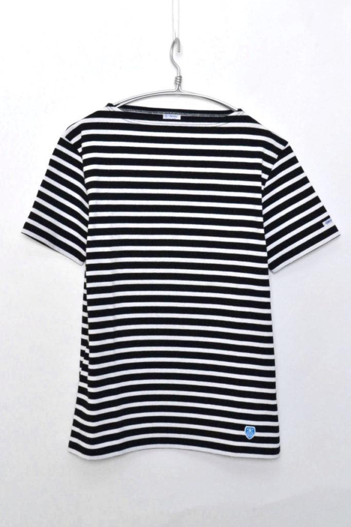 COTTON LOURD S/Sコットンロード 半袖ボーダーバスクシャツ カットソー