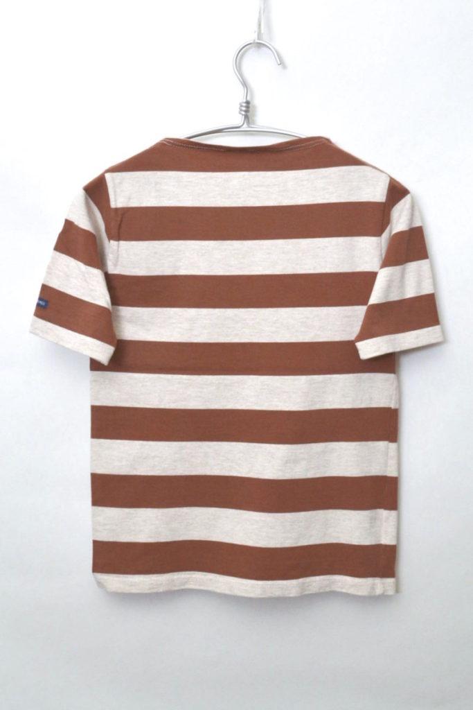 OUESSANT WIDEBORDER ウエッソンワイドボーダー半袖バスクシャツの買取実績画像