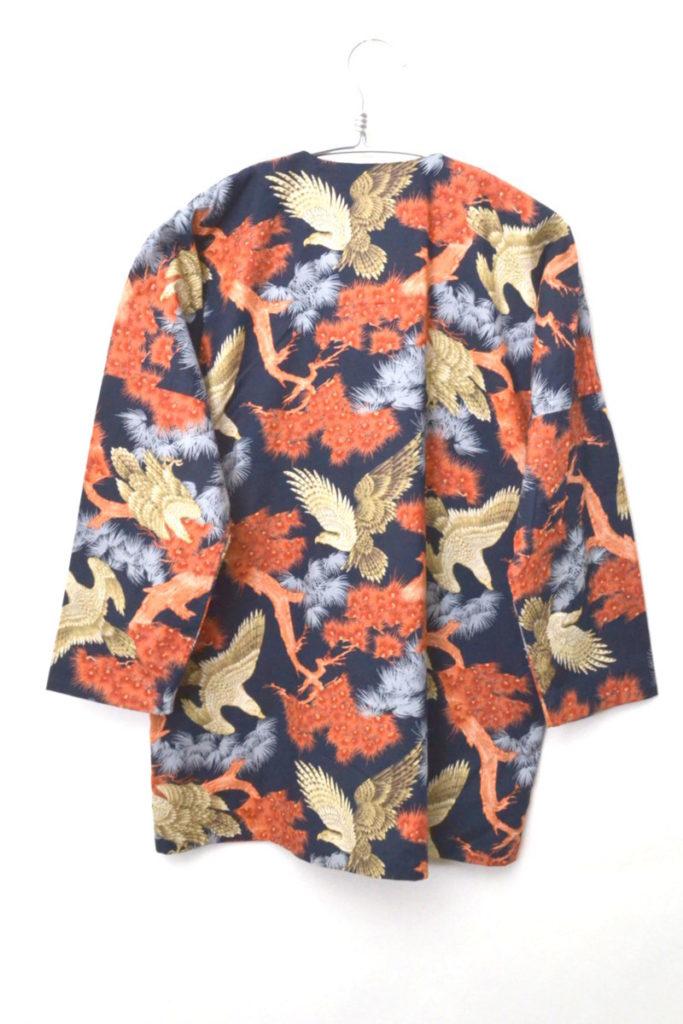 シングルニードル ノーカラー 総柄シャツの買取実績画像