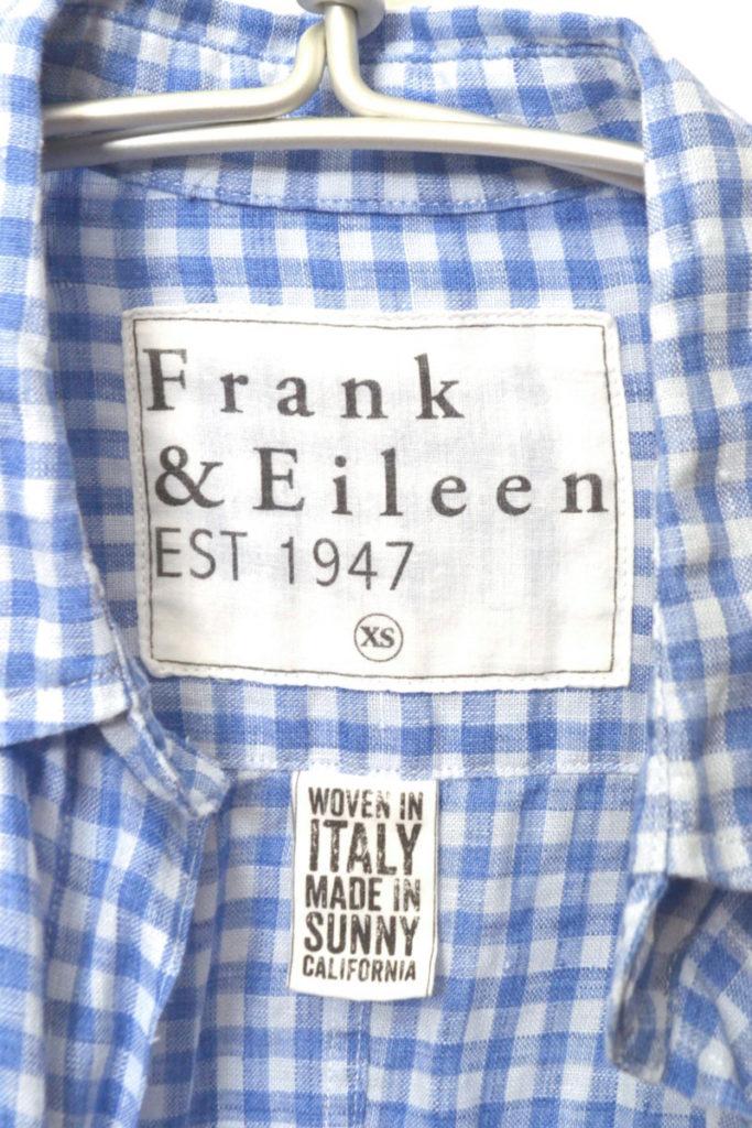 BARRY 日本限定 リネン ギンガムチェック スキッパーシャツの買取実績画像