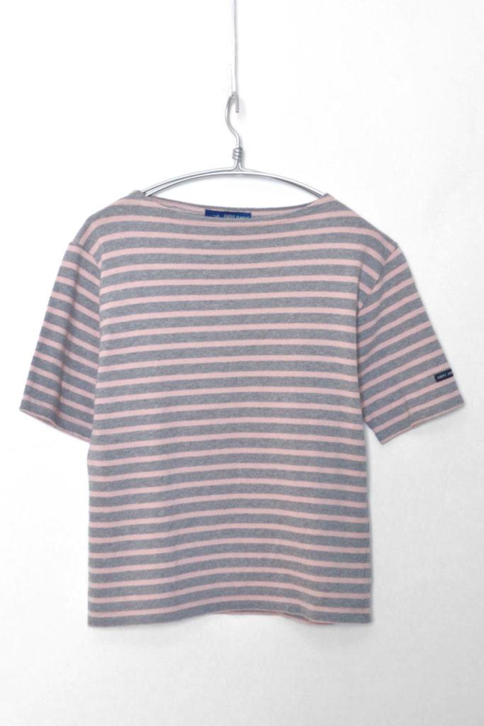 OUESSANT S/S ウエッソン半袖 ボーダーバスクシャツ Tシャツ