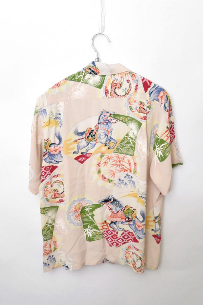 雷門/レーヨンオープンカラー アロハシャツの買取実績画像