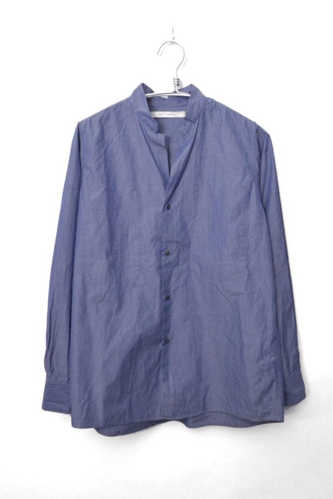 2018SS/ dressy cotton stripe shirts ドレッシーコットン ストライプ シャツ