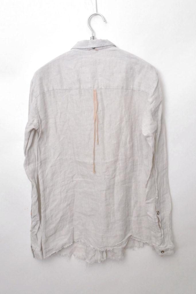 カットオフ リネンシャツの買取実績画像