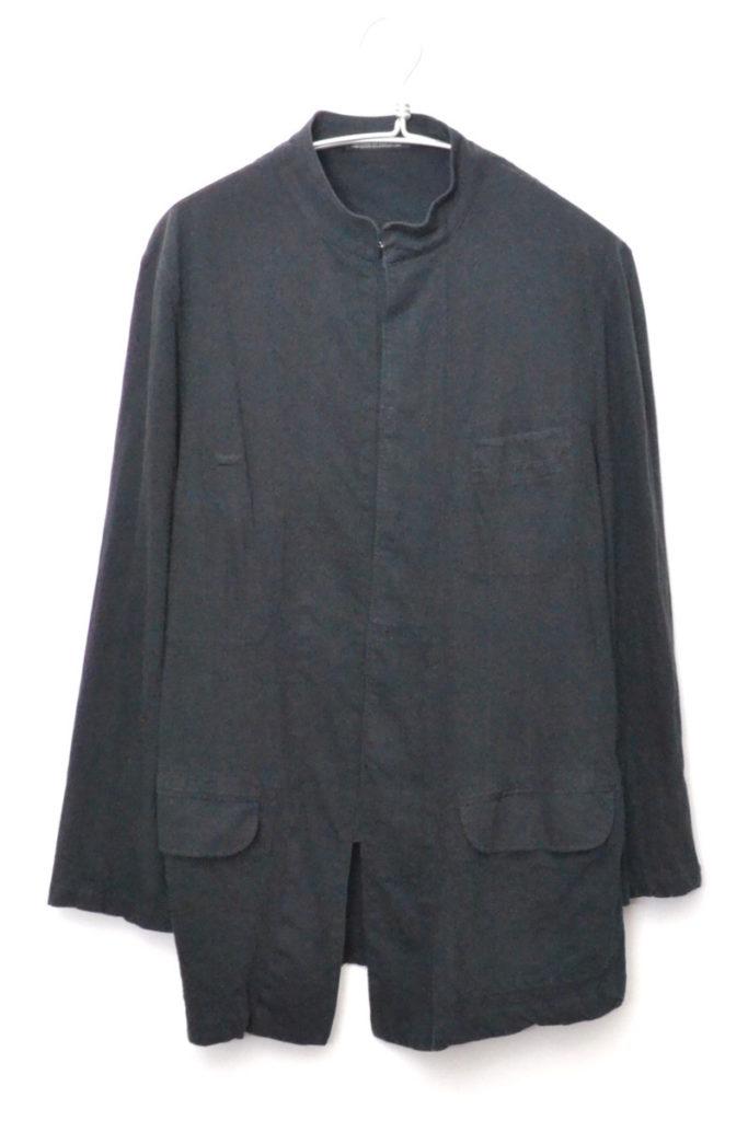 2012SS/ コットンジャージー スタンドカラーコート ジャケット