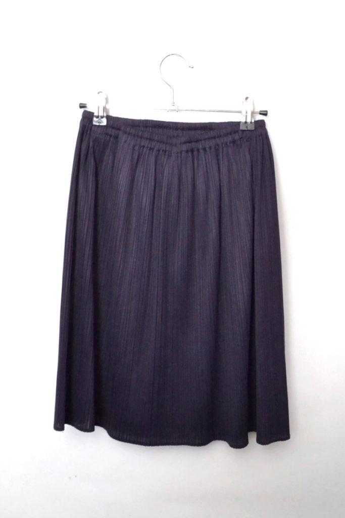 1990s 白タグ/ プリーツ加工 ウエストゴム スカートの買取実績画像