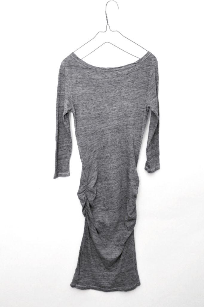 Jewel Neck Dress ドレープ カットソー ワンピース ドレスの買取実績画像