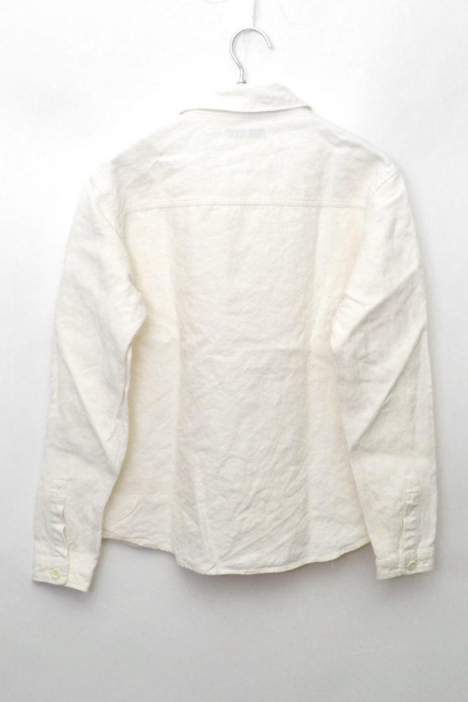 ヘビーリネンキャンバス 比翼シャツの買取実績画像
