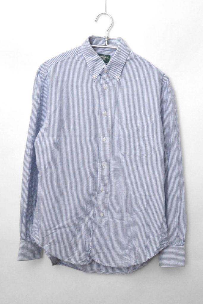 SHIPS別注/ リネンコットン ボタンダウンシャツ