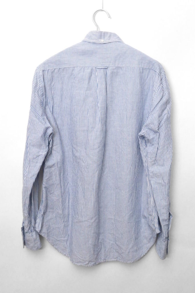 SHIPS別注/ リネンコットン ボタンダウンシャツの買取実績画像