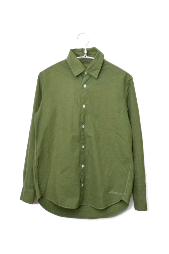 製品染め 長袖シャツ