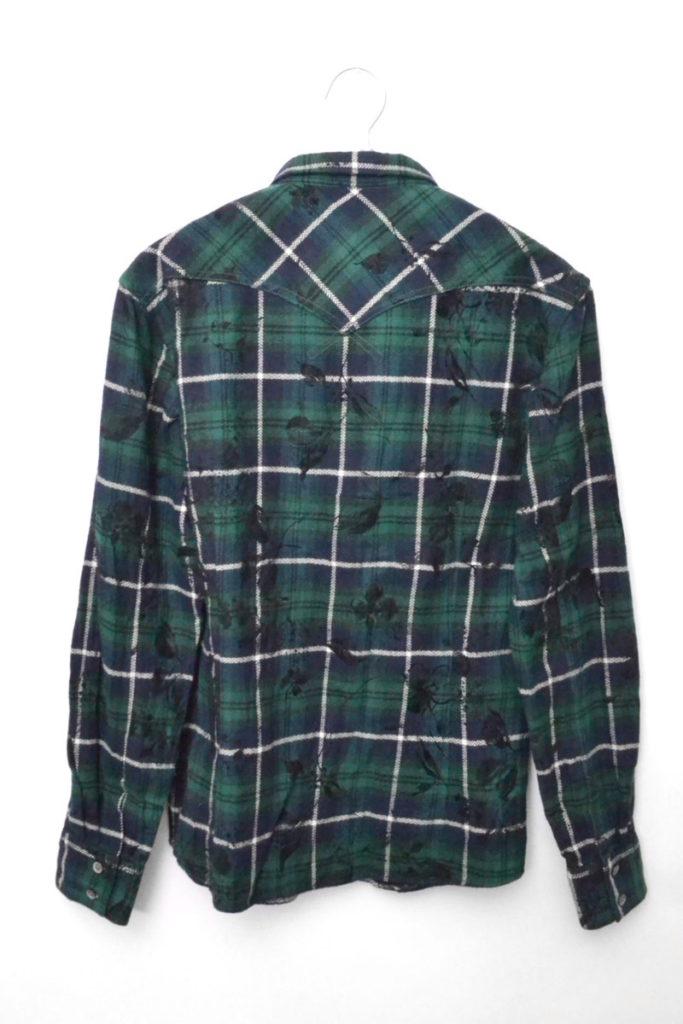 フロッキープリント ウエスタンシャツの買取実績画像