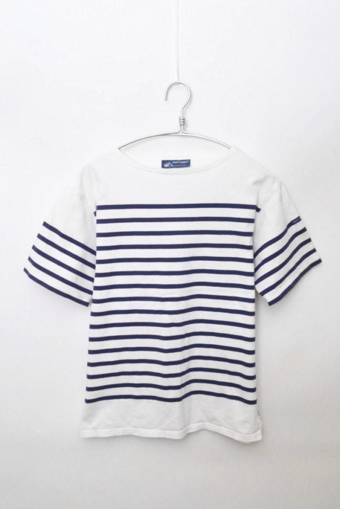 NAVAL S/S ナヴァル 半袖 パネルボーダー バスクシャツ