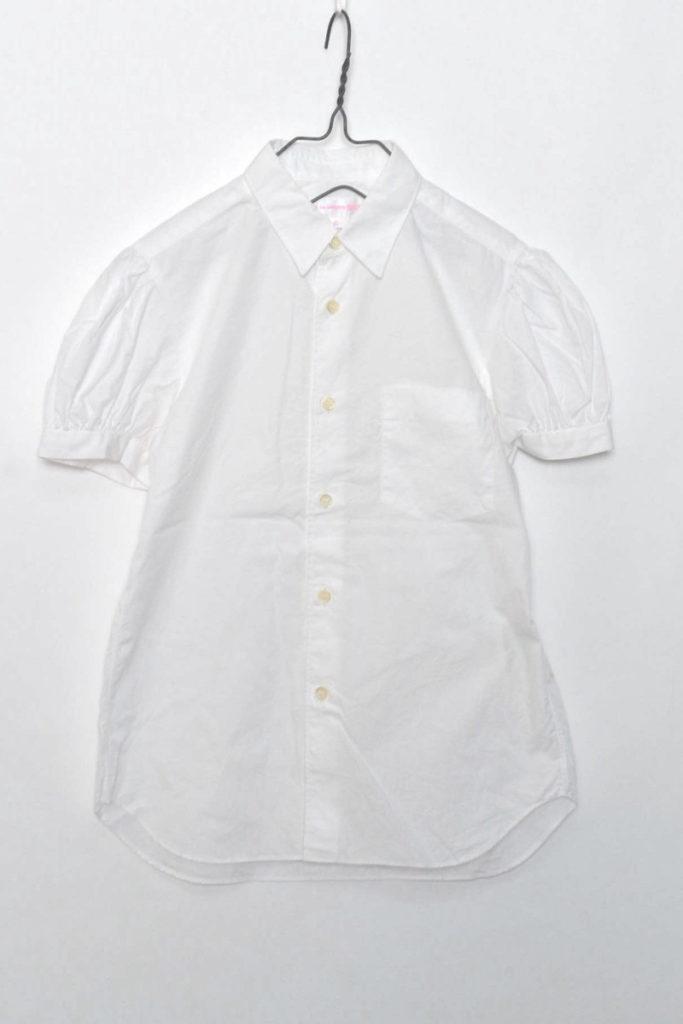 パフスリーブ 半袖シャツ
