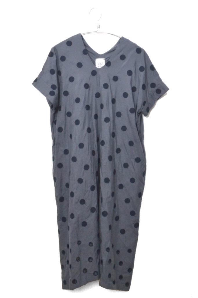 Laundry/vapor ドレス コットンシルク ワンピース