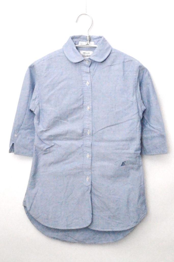 CHELSEA チェルシー オックスフォード丸襟シャツ