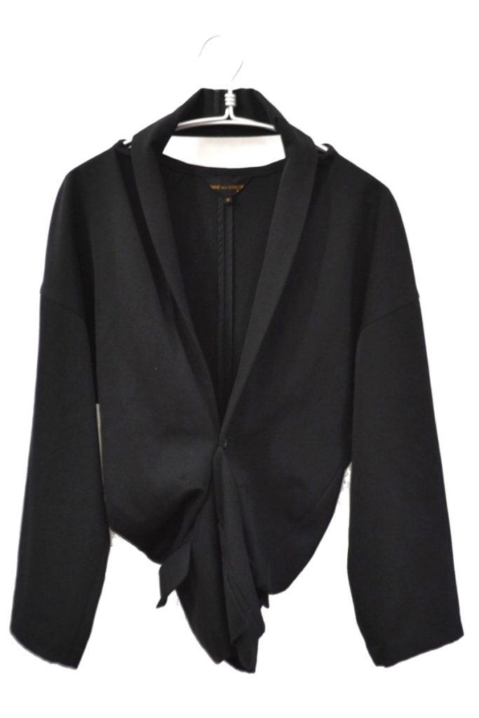 AD1990/ウールギャバ 変形ジャケット