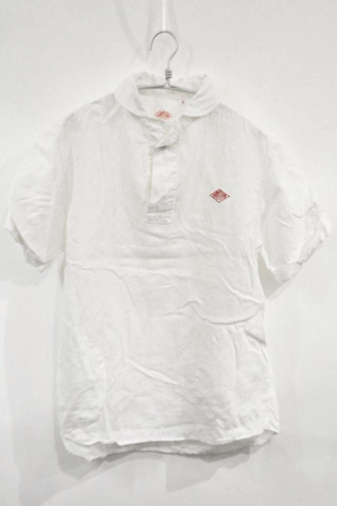2015SS/リネン ラウンドカラープルオーバーシャツ