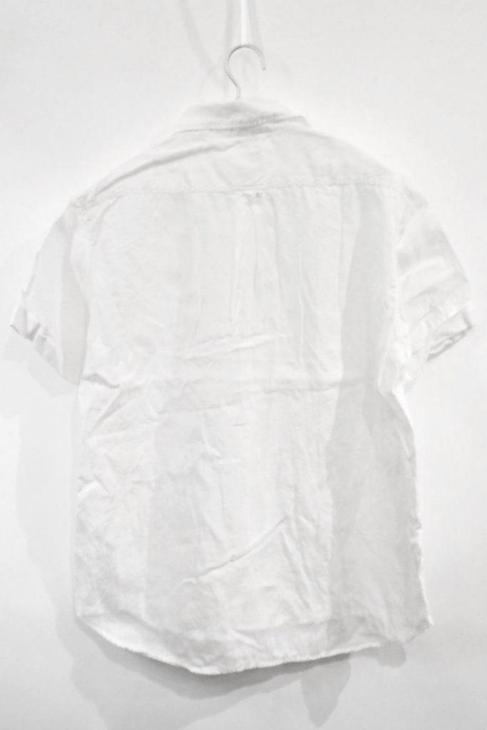 2015SS/リネン ラウンドカラープルオーバーシャツの買取実績画像