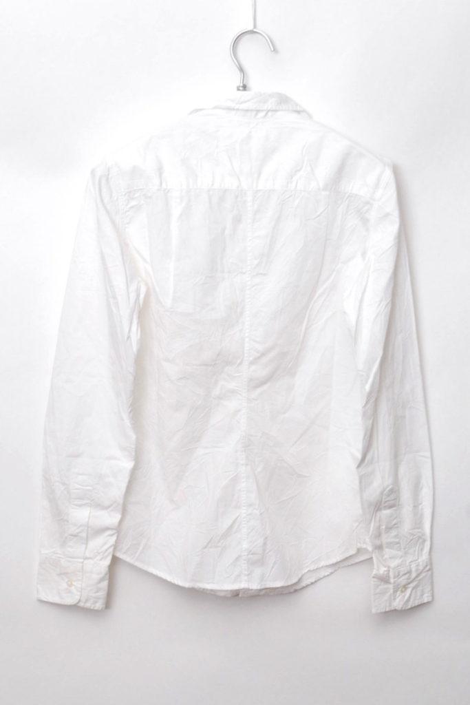 BARRY しわ加工 コットン スキッパーシャツの買取実績画像