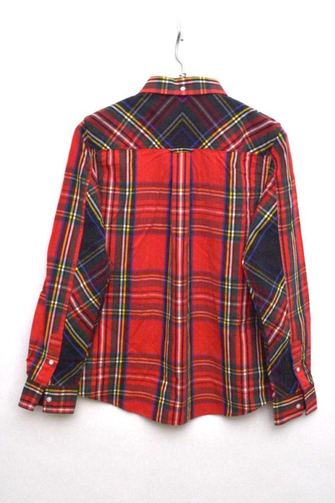 Tartan Boyfriend Fit Shirt タータンチェックBDシャツの買取実績画像