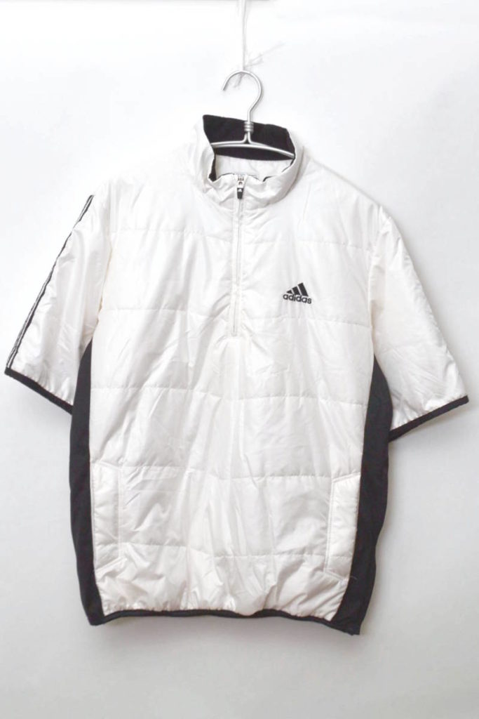 GOLF/中綿 半袖プルオーバージャケット