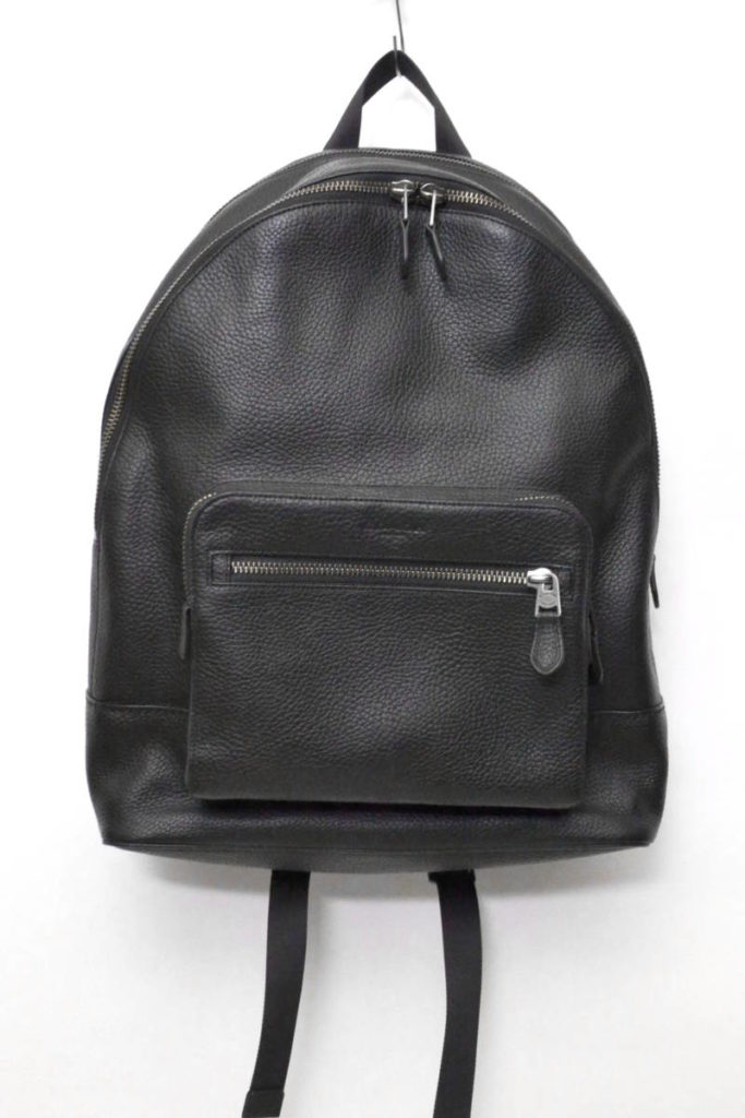 2018SS/ West BackPak Pebbled Leather レザーバックパック