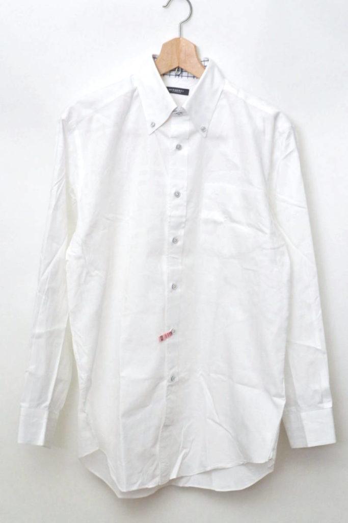 シャドーチェック ボタンダウンシャツ
