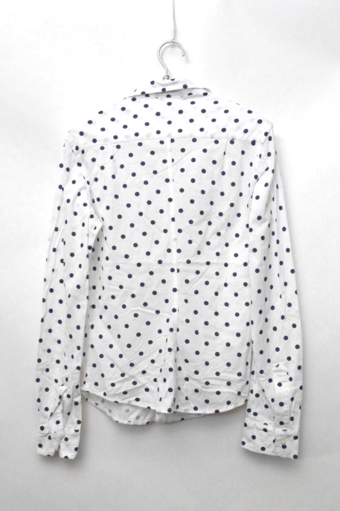 RON HERMAN別注/BARRY/THOMAS MASON 鹿の子生地 スキッパーシャツの買取実績画像