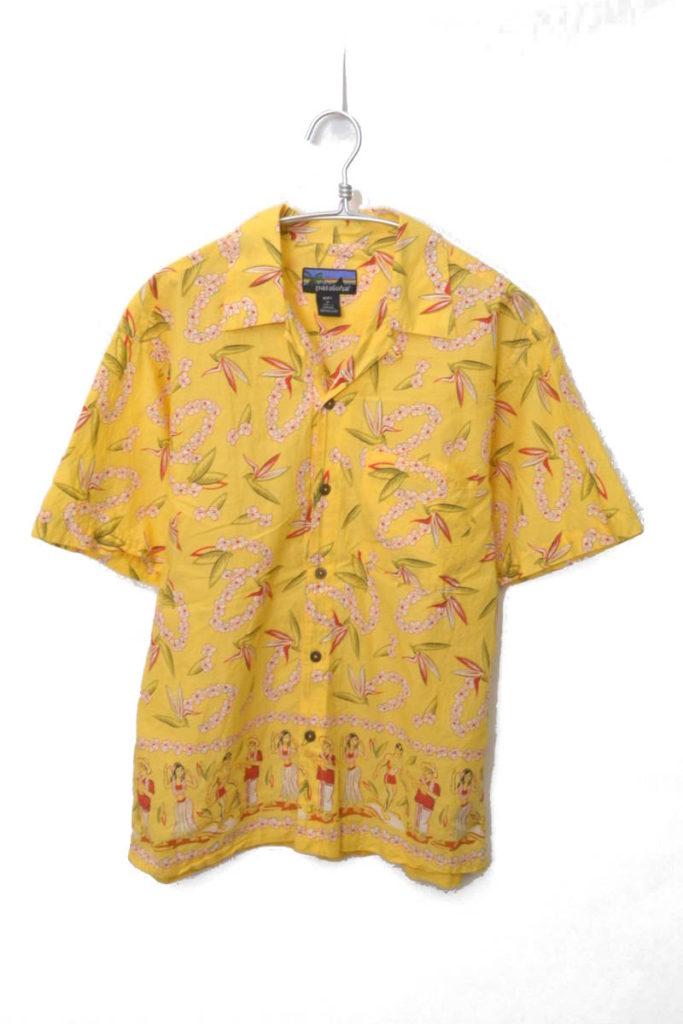 2000年/オープンカラー コットンアロハシャツ