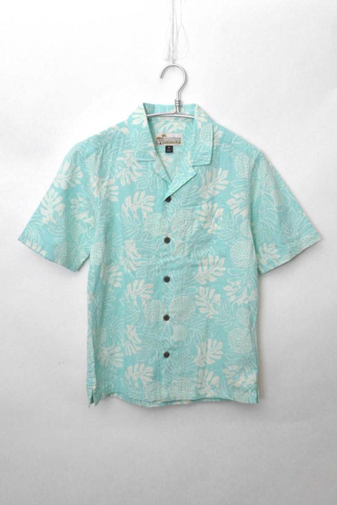 2018SS/メンズ パタロハシャツ オープンカラー アロハシャツ