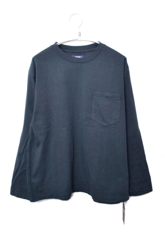 2018SS/ 長袖ポケットTシャツ