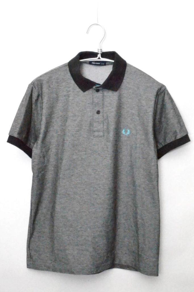 FZ1547 コットンポリ 胸刺繍 ポロシャツ