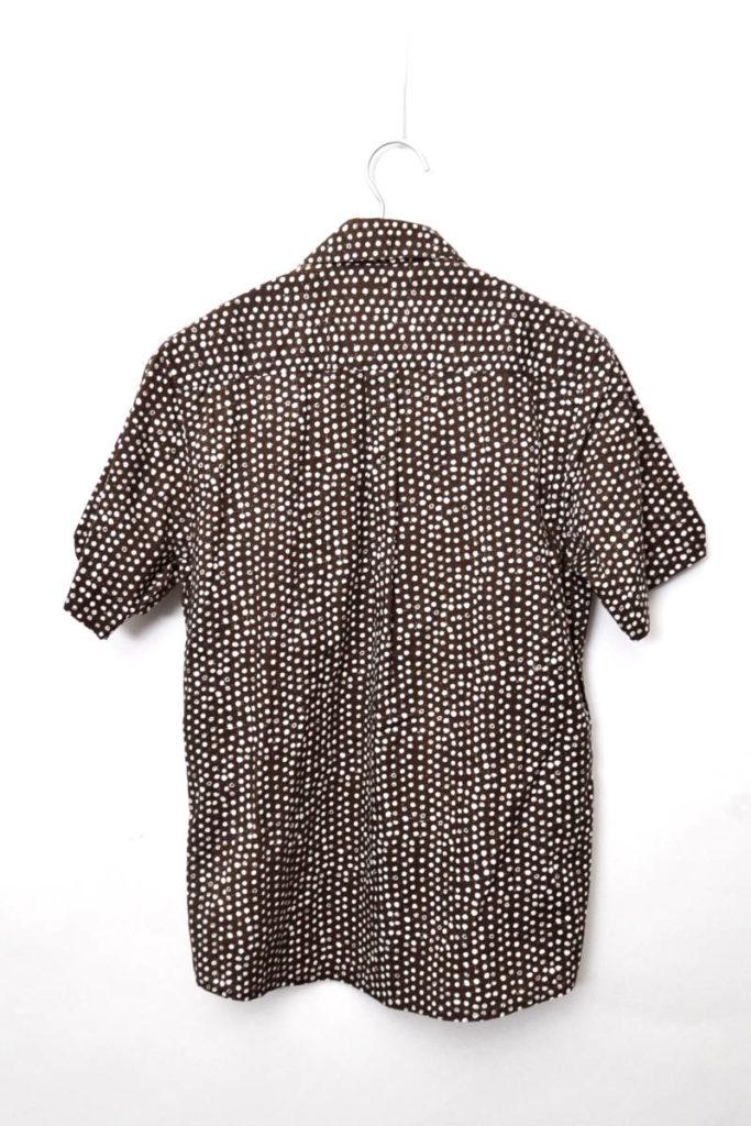 2012SS/4095 SP12/HARVEST SHIRT ハーベストシャツ 総柄プリント半袖シャツの買取実績画像